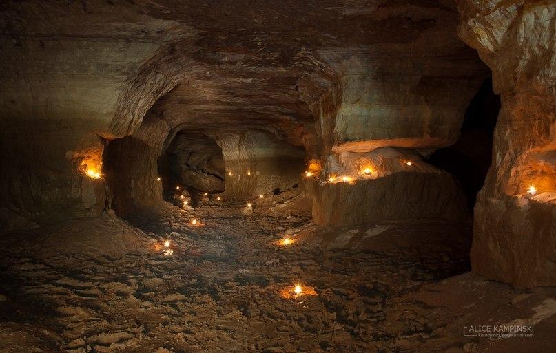 Пещера Танечкина в Волховском