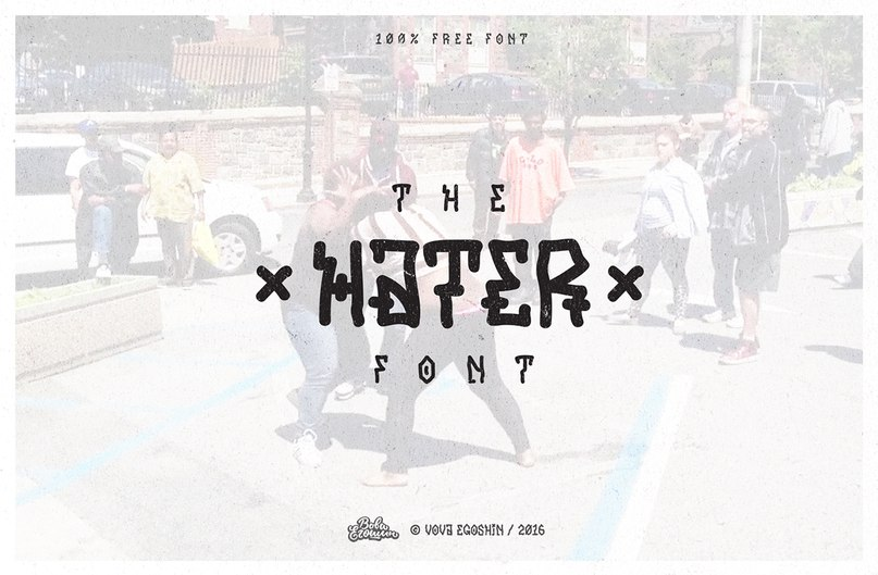 Download Hater font (typeface)