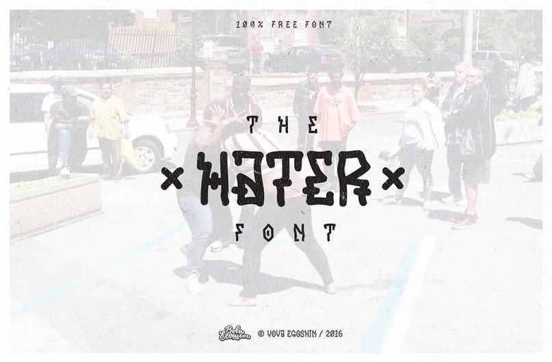 Download Hater font (typeface)