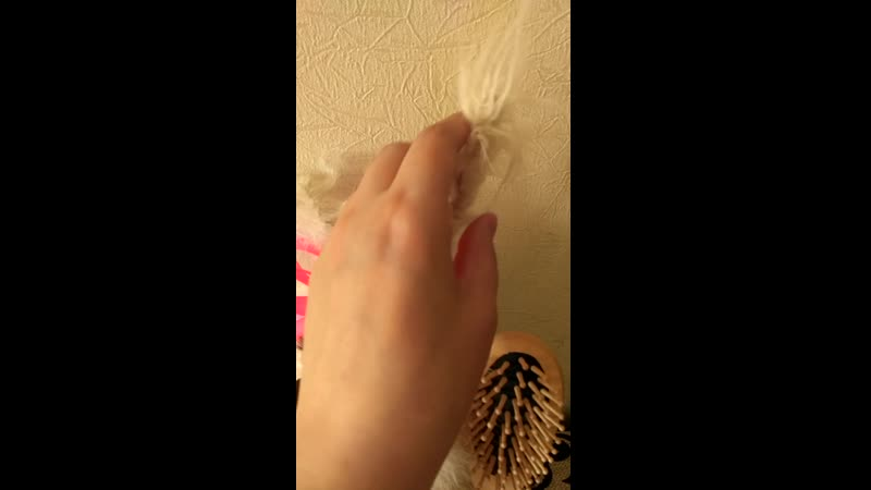 обзор домовенка бубы- девочки парикмахера.
