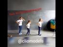 урок по Фотопозированию в школе CLIO models. г. Луганск группа №3