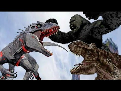 King Kong Vs Indominus Rex (Part 2)