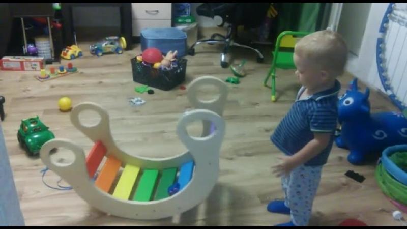 Радуга-качалка видееотзыв от покупателя