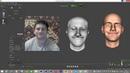 Faceshift- готовим модельку к анимации видео 1