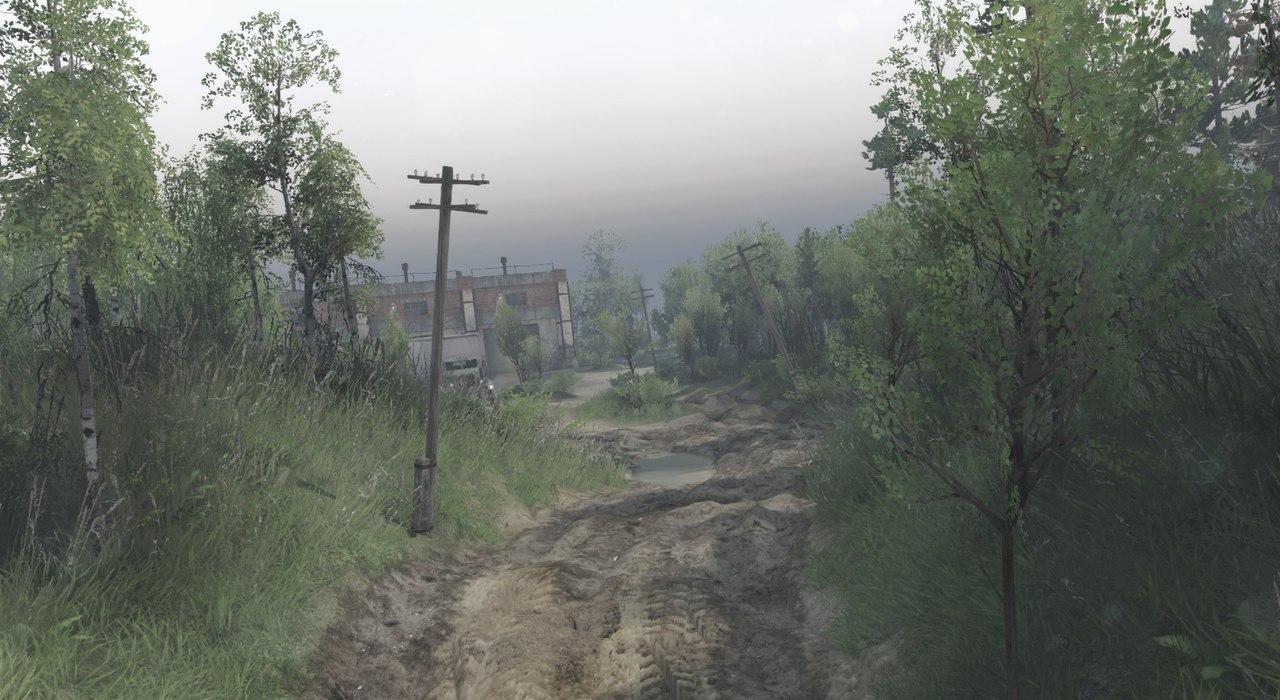 """Карта """"Город-призрак"""" для 23.10.15 & 8.11.15 для Spintires - Скриншот 2"""