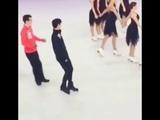 Ultimare Dorks ADORABLE! Yuzuru Hanyu Javier Fernandez - Yuzuvier throwback