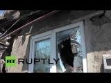 Ukraine: Donetsk homes shattered by shelling