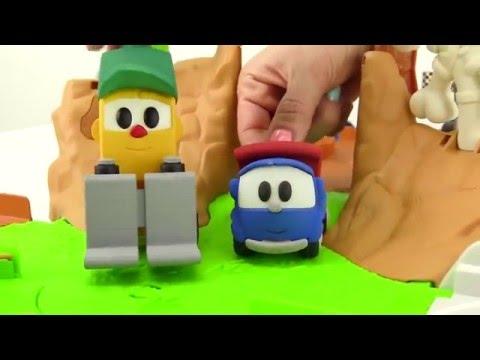 Çizgi film oyuncakları. Leo, Max ve Lifty - Gel oynayalım!