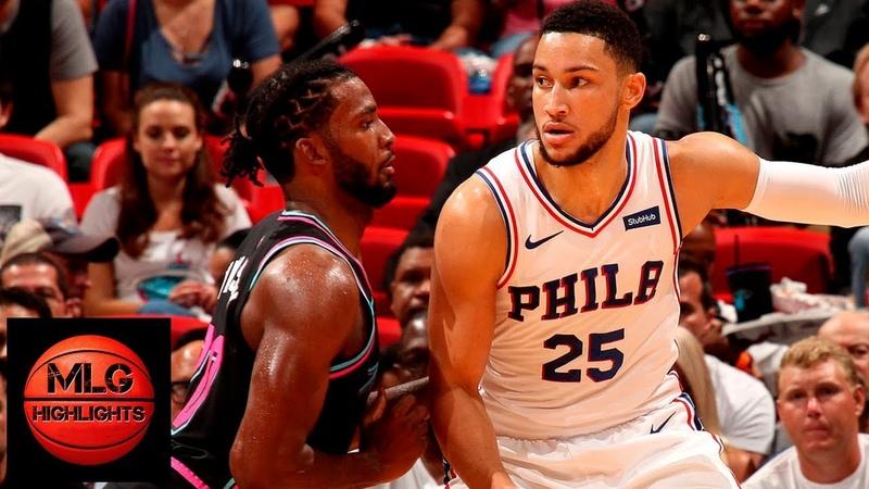 Miami Heat vs Philadelphia Sixers Full Game Highlights 11 12 2018 NBA Season