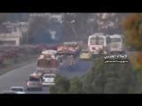 سوريا - بالفيديو خروج الدفعة الاخيرة من المسلحين وأفراد عوائلهم غير الراغبي.mp4