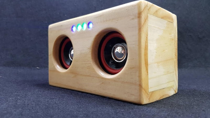 Building Bluetooth Speaker with Pallet Wood
