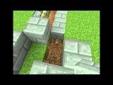 Лучшие механизмы в Minecraft серия 17 (ловушка без кнопок)