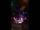 Стриптизный автобус с аппетитной девушкой ездит по Уфе