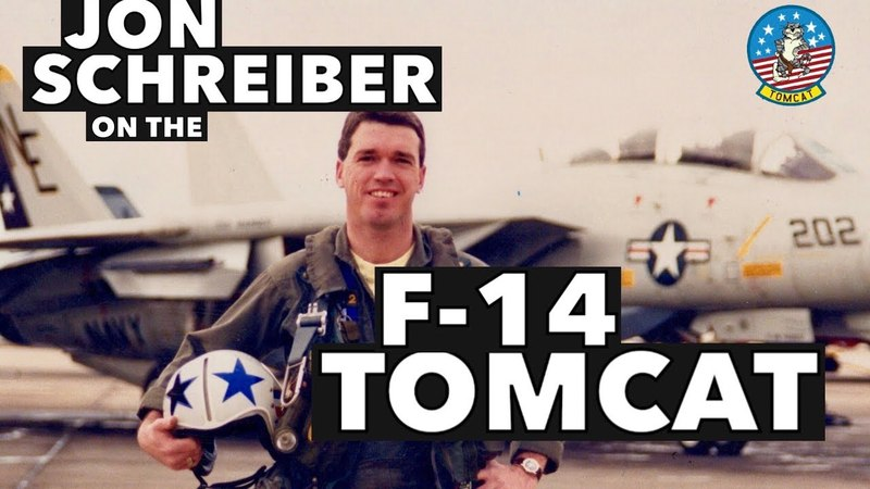 Interview with Jon Hooter Schreiber on the F-14 Tomcat