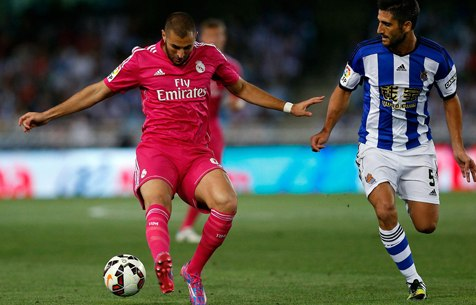 Real Sociedad S.A.D. - Real Madrid C.F. 4:2