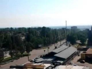 07.06.14 Славянск Утро в нашем городе #стрельба #славянск #ато