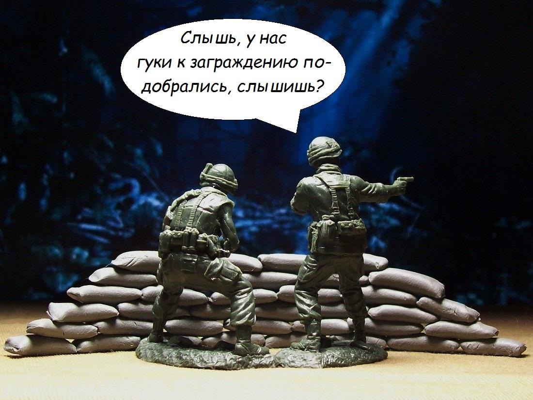 Видео - зарисовки с солдатиками 32 масштаба! 410jblRhMNc
