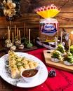 Три яркие закуски к новогоднему столу