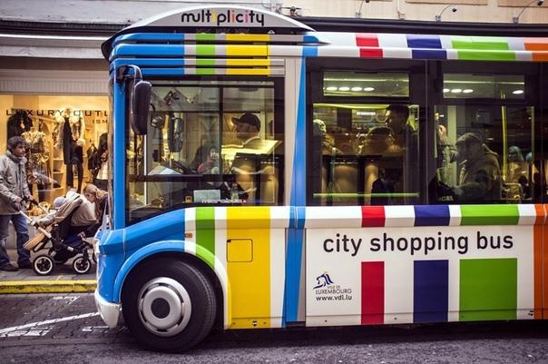 Люксембург - первая в мире страна с полностью бесплатным общественным транспортом