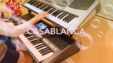 CASABLANCA - Instrumental keyboard cover- Bertie Higgins