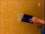 Жидкие обои Silk Plaster на Первом канале ЦТ.Как нанести жидкие обои