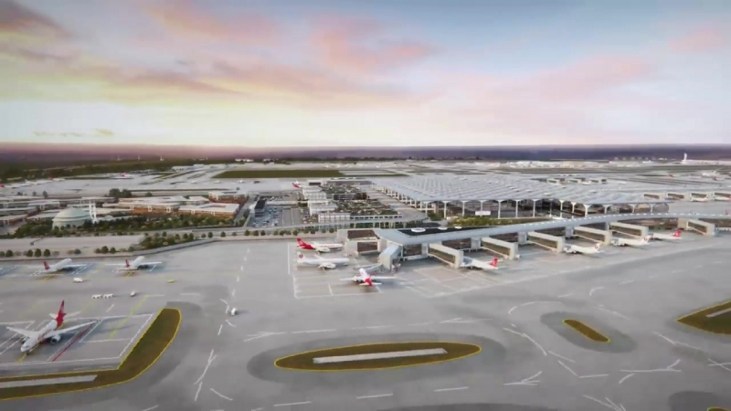 İstanbul New Airport- The Place Where Dreams Come True. We Are Ready For Take-Off in 2018!