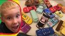 Мультики про Машинки Тачки Дисней Купаем в Воде Видео для Детей