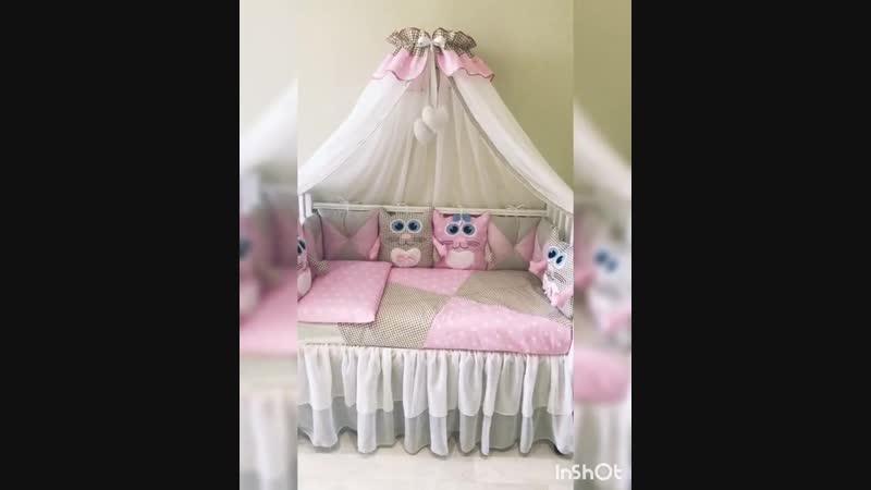 Комплект в кроватку Томик