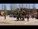 ДонВОКУ 2 курс 1 взвод Показательные выступления Рукопашный бой