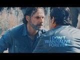 Rick &amp Negan I don't wanna live forever