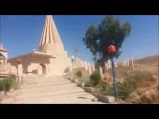 Peshmerga schänden das Grab des Şêkh Mend - Ezdixan Kurdistani