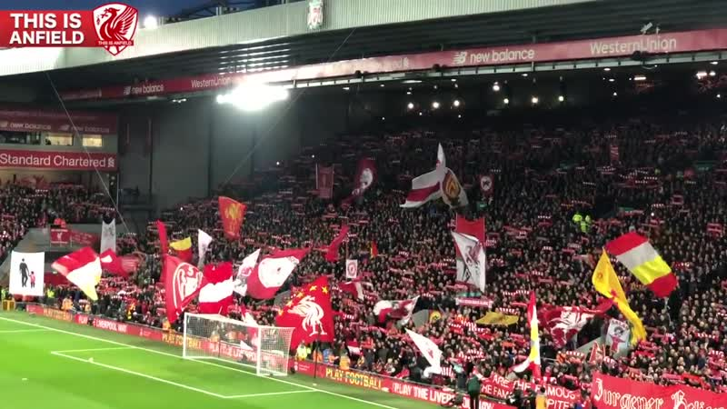 Liverpool vs. Man United | Pre-match You'll Never Walk Alone at Anfield