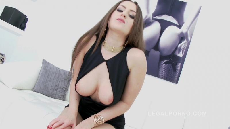 Kendra Star (Piss drinking slut Kendra roughed up & double penetrated SZ775)[2018, DP, Anal, Big tits, Toys, Pissing, 720p]