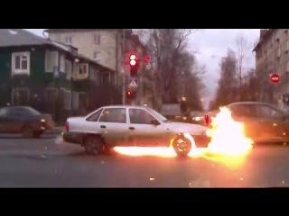 Подборка газовых бомб (Взрывы и воспламенения ГБО)