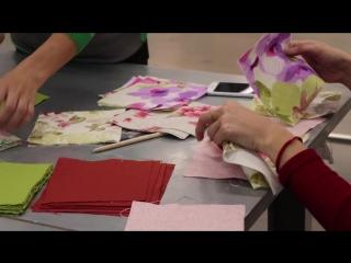 Фабрика идей: подушка в технике пэчворк (лоскутное шитьё)