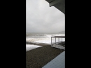 26 декабря 2017. Шторм на море в Адлере рядом с домом.
