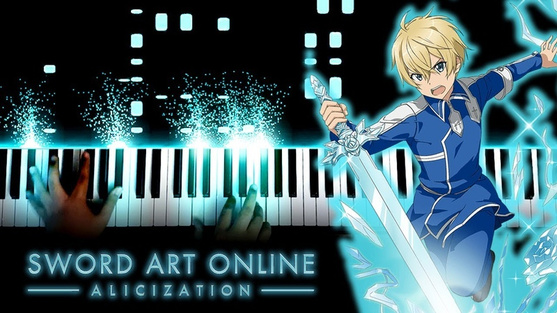 Sword Art Online Alicization ED 2 forget me not ReoNa Piano