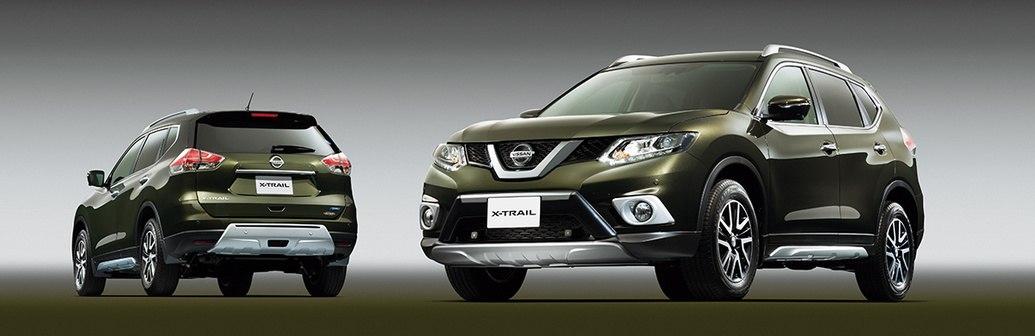 Никакой самобытности в дизайне Nissan X-Trail 2014 нет. Довольно-таки банальный раскосый бампер общепринятом стиле последних лет, обычная оптика, минималистическая решетка радиатора. Художественные изыски мы ждем от Murano 2014.