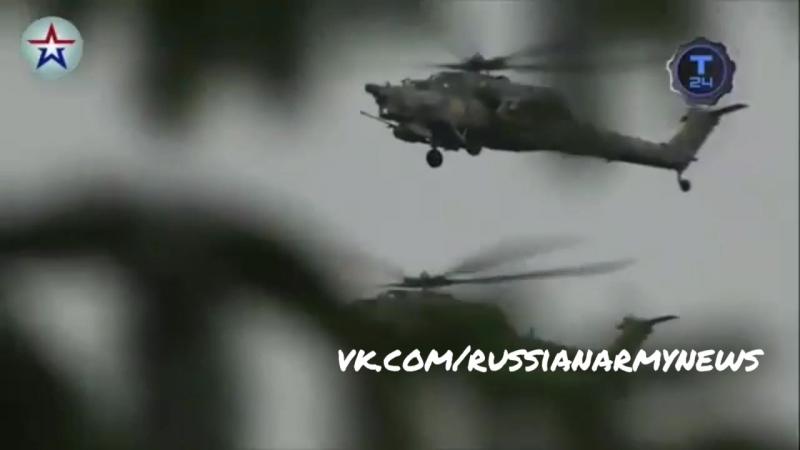 Ударный Российский вертолет нового поколения Ми-28Н Ночной охотник