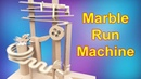How to make Marble Run Machine From Cardboard Marble Run Marble Race