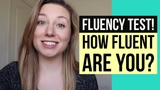 YOU KNOW YOURE FLUENT IN ENGLISH WHEN... (fluency quiz! test your English!!)