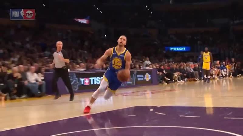 Steph Curry Dunk Attempt Shaqtin Of The Year Nomination _ Warriors vs Lakers