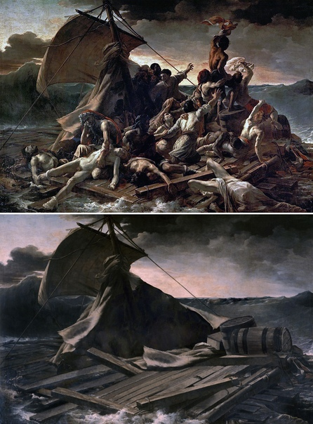 Как бы выглядели классические картины без человеческих фигур Испанский художник Хосе Мануэль Баллестер (José Manuel Ballester) воссоздает классические картины, такие как «Третье мая 1808 года»