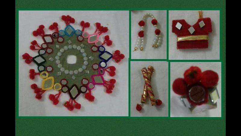 NAVRATHRI SPECIAL DRESS FOR BAL GOPAL / गुजराती पोशाक FOR LADDU GOPAL – SS ART CREATIONS
