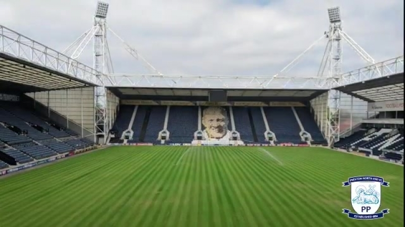 The Deepdale pitch is coming along nicely! - - Superb work as always by pnefc head groundsman @peteash04 and his team! .mp4