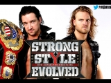 Jay White (c) vs. Hangman Page - NJPW Strong Style Evolved