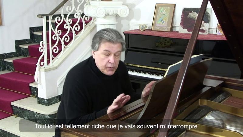 Andrei Gavrilov raconte et joue les Tableaux d'une exposition Mussorgsky Limoges Part 8