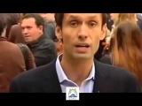 Митинг в Париже против боевых событий на Украине