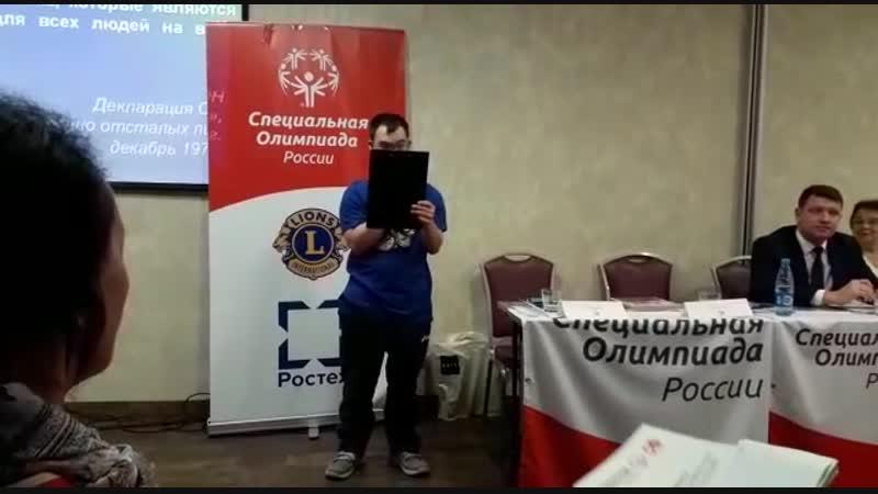 Выступление М Станина в Мск