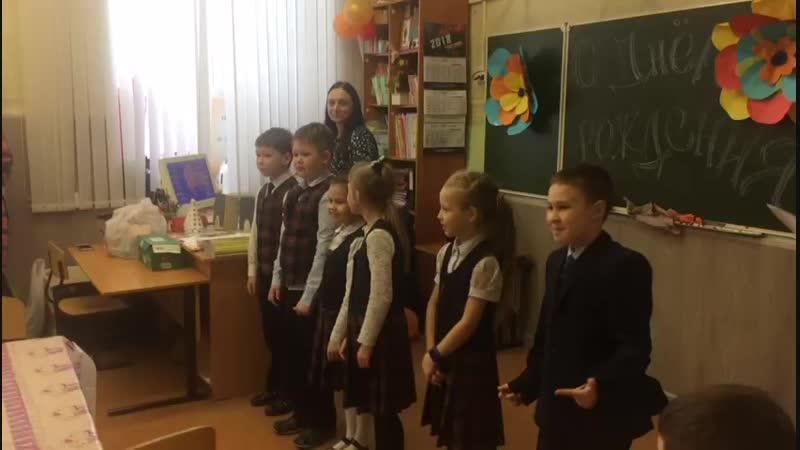 Поздравление с днем рождения осенних деток